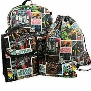 NWT Star Wars 5 piece Backpack Bag Set FinalPrice